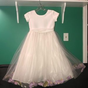 Flower girl/first communion dress sz. 6 Us Angels